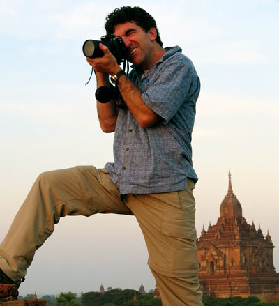 Charlie Costello in Bagan
